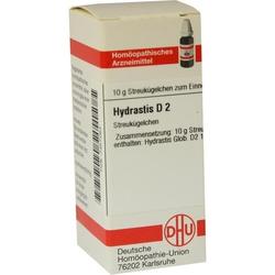 HYDRASTIS D 2 Globuli 10 g