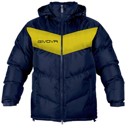 Givova Winterjacke Giubbotto Podio navy/gelb - S