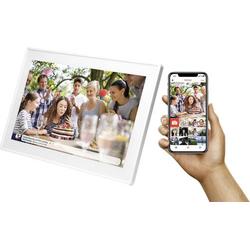 Denver PFF-1513 Digitaler Bilderrahmen 39.6cm 15.6 Zoll 1920 x 1080 Pixel Weiß
