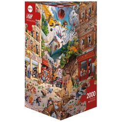 HEYE Puzzle Apocalypse, Loup, 2000 Puzzleteile
