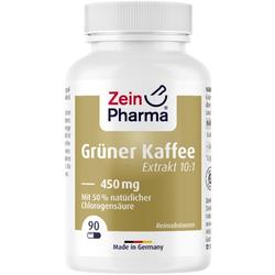 GRÜNER KAFFEE Extrakt Kapseln 450 mg 90 St