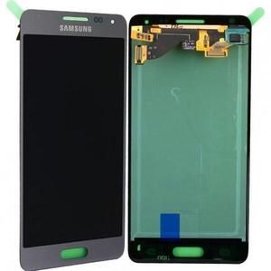 LCD Display Einheit inkl. Touchscreen für Samsung Galaxy Alpha G850F, silber,...