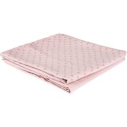 2er Set Puck- und Stilltuch rosa