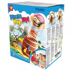 Rocco Toys Pirate Pop-Up Brettspiel