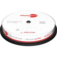 PrimeOn CD-R 700MB bedruckbar 10er Spindel