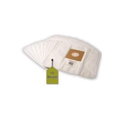 eVendix Staubsaugerbeutel Staubsaugerbeutel kompatibel mit micromaxx MM 2668, 10 Staubbeutel + 1 Mikro-Filter, kompatibel mit SWIRL Y293, passend für micromaxx
