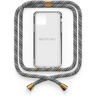NECKLACY Elbvision NECKLACY© Necklace Case Samsung Galaxy A50 Domino Swirl