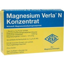 VERLA Magnesium Verla N Konzentrat  Pulver 20 St.