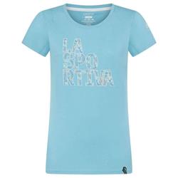 La Sportiva Pattern T-Shirt Women Klettershirt pacific blue