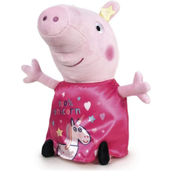 Play by Play Plüschfigur Peppa Wutz Plüschfigur (31cm) Peppa pinkes Kleid Peppa pinkes Kleid - 31 cm