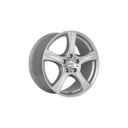 Alufelge RONAL R55 SUV Einteilig Kristallsilber 9.50 x 20 ET 55.00 5x112.00 Wintertauglich