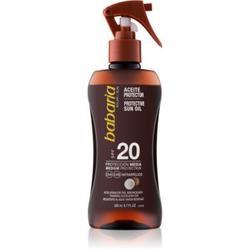 Babaria Sun Protective Sonnenöl SPF 20 200 ml