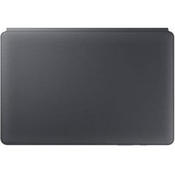 Samsung BookCase Tablet-Tastatur mit BookCover Galaxy Tab S6 Grau