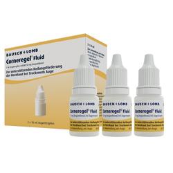 CORNEREGEL Fluid Augentropfen 3X10 ml
