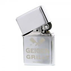 AKTION - Benzinfeuerzeug chrom (Gravurmaß 32x32 mm)