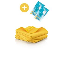 JEMAKO® Trockentuch S klein (40 x 45 cm) gelb - 3er-Pack