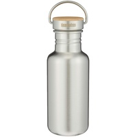 Trinkflasche Brushed Stainless,