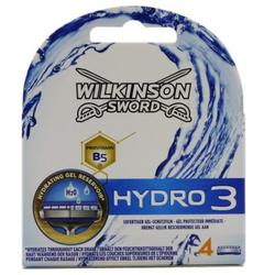 4 Wilkinson Sword Hydro 3 Rasierklingen Ersatzklingen Klingen Rasierer Neu & OVP