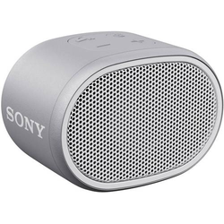 Sony SRS-XB01 Bluetooth® Lautsprecher AUX, Wasserfest Weiß
