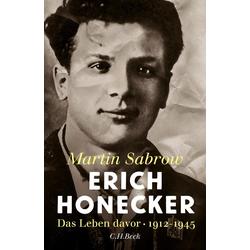 Erich Honecker als Buch von Martin Sabrow