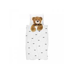 Bettwäsche Snurk Bettwäsche Teddy 135 x 200 cm 100% Baumwolle, Snurk