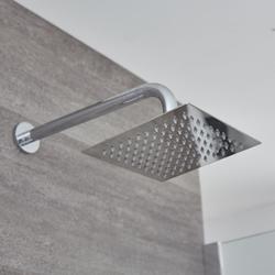 2-Wege Duschsystem inkl. Kopfbrause & UP Thermostat Duscharmatur - Kubix, von Hudson Reed