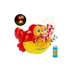 relaxdays Seifenblasenmaschine Seifenblasenmaschine Krabbe