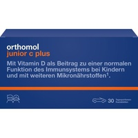 Orthomol Junior C plus Kautabletten Mandarine/Orange 30 St