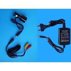 Türspionkamera Farb Bullet Kamera Sony CCD 420TVL Schwarz