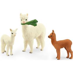 Schleich® Spielfigur Wild Life, Alpakafamilie (42544)