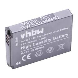 vhbw Li-Ion Akku 700mAh für Silvercrest Action Cam SCAA 5.00 A1 wie AT-S60, FJ-SLB-10a