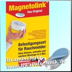 Magnetolink - Magnetbefestigung für Rauchmelder - Magnetpad
