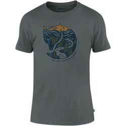 Fjällräven - Arctic Fox T-Shirt M Dusk - T-Shirts - Größe: L