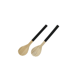 Boltze Salatbesteck Hedy aus Bambus, 2-teilig