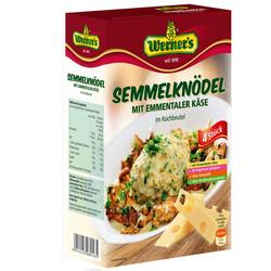 Semmelknödel mit Emmentaler Käse 4 Stück - Werner's