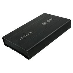 LogiLink Festplattengehäuse 2,5, SATA, USB 3.0, Alu, 12,5 mm