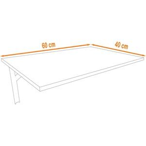Beton | Wandtisch Wandklapptisch Küchentisch Schreibtisch Esstisch