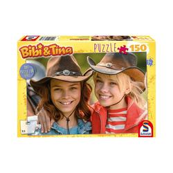 Schmidt Spiele Puzzle Puzzle Bibi und Tina Live Action Motiv 1, 150, Puzzleteile