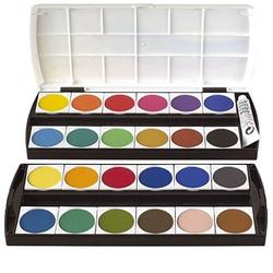 Geha F250/24 Wasserfarbkasten 24 Farben