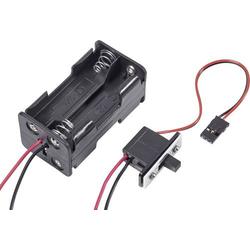 Modelcraft Modellbau Batteriebox mit Schalter Stecksystem: JR
