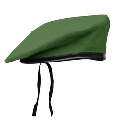 Mil-Tec Barett Typ BW grün, Größe 58