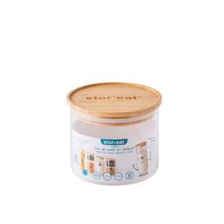 mastrad Vorratsdose StorEat 400 ml, Borosilikatglas, (1-tlg)