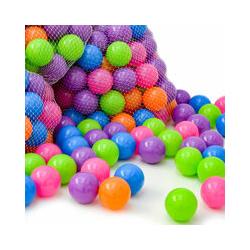 6000 Bällebadbälle 6 cm Bunte Bälle für Bällebad Spielbälle Babybälle Pastell