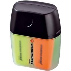 Textmarker Boss mini Box mit 4 Stiften
