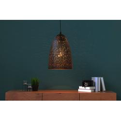 Licht-Erlebnisse Pendelleuchte GALAXIA Moderne Pendelleuchte Schwarz Kupfer Esszimmer Wohnzimmer Lampe