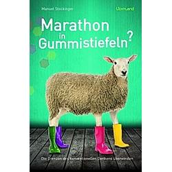 Marathon in Gummistiefeln?