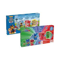 ASS Spiel, 3 in 1 Spieleboxen - PAW Patrol und PJ Masks