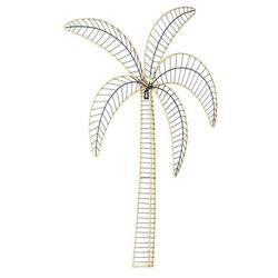 Wanddeko in Palmenform