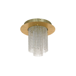 Eglo LED-Deckenleuchte Vilalones in goldfarbig