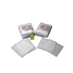 eVendix Staubsaugerbeutel 10 Staubsaugerbeutel Staubbeutel passend für Staubsauger Bomann CB 933, passend für Bomann